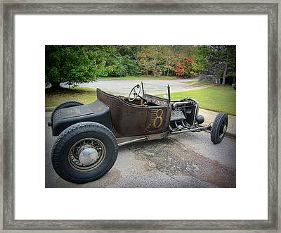 The Bridgeport Special 1925 Ford T Roadster Framed Print by Kathy Clark