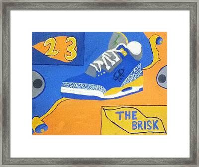 The Brisk Framed Print by Mj  Museum