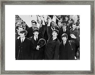 The British Invasion 1964 Framed Print by Mountain Dreams