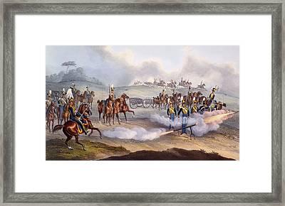 The British Royal Horse Artillery - Framed Print by William Heath