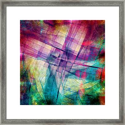The Building Blocks Framed Print by Angelina Vick