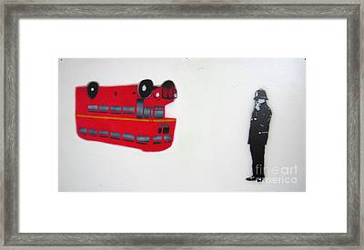 The Bus Framed Print by Bela Manson