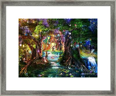 The Butterfly Ball Framed Print by Aimee Stewart