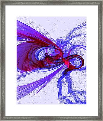 The Buzz Framed Print by Jeanne Liander