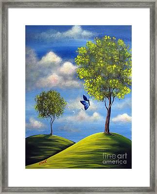 The Call Of Spring By Shawna Erback Framed Print by Shawna Erback