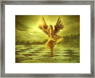 The Calling Framed Print by Ester  Rogers