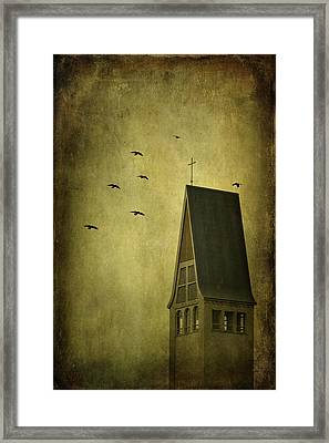 The Calling Framed Print by Evelina Kremsdorf