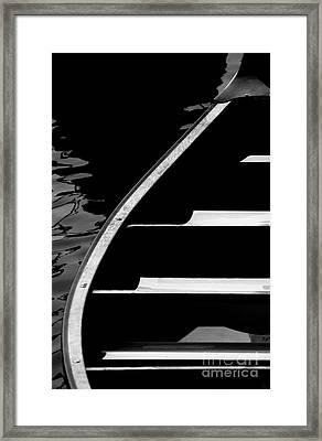 The Canoe Framed Print by Jeff Breiman