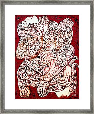 The Caress Framed Print by Kritsana Tasingh