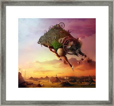 The Carnival Is Over Framed Print by Mario Sanchez Nevado