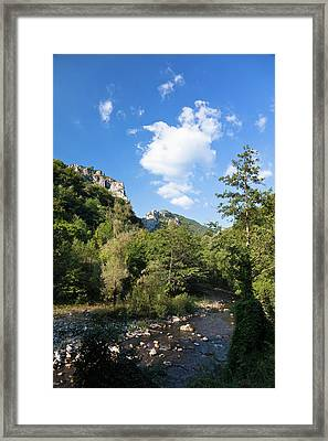 The Carpathian Mountains, Cerna Valley Framed Print by Martin Zwick