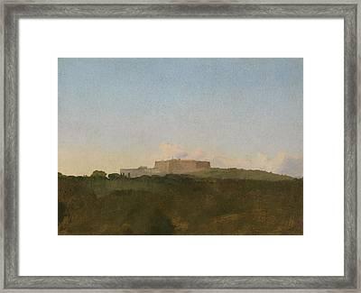 The Castel Santelmo, Naples Framed Print by Edgar Degas