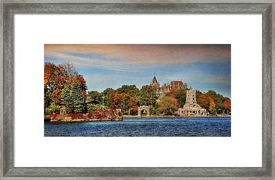 The Castle Of Love Framed Print by Lori Deiter