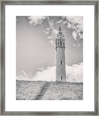 The Castle Tower Framed Print by Scott Norris