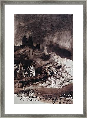 The Castle Framed Print by Victor Hugo