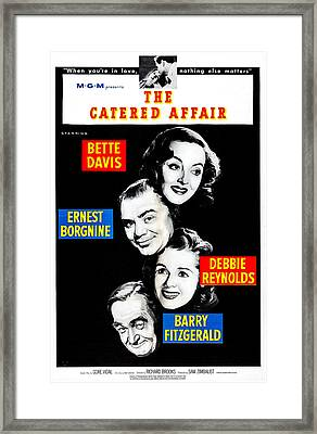 The Catered Affair, Us Poster, From Top Framed Print by Everett