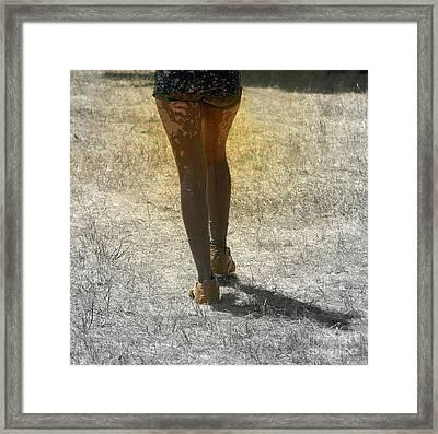 The Catwalk  Framed Print by Steven  Digman
