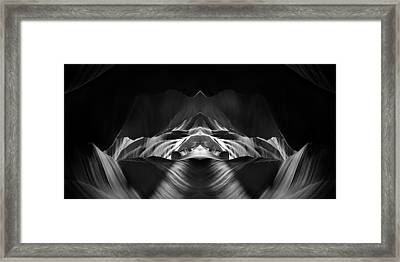 The Cave Framed Print by Adam Romanowicz