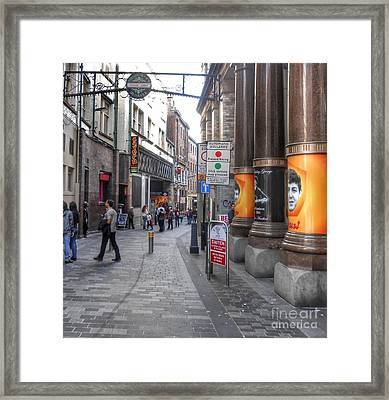 The Cavern Club At Mathew Street Framed Print by Joan-Violet Stretch