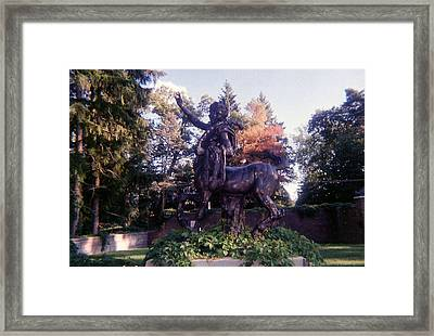 The Centaur Framed Print by Cynthia Hilliard