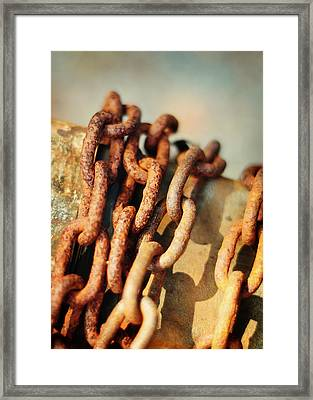 The Chain Framed Print by Rebecca Sherman
