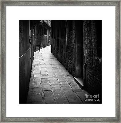 The Chair Framed Print by Prints of Italy