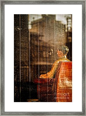 The Chairman Dreams Of Change Framed Print by Dean Harte