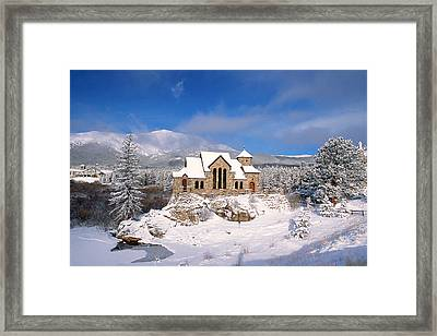 The Chapel On The Rock 3 Framed Print by Eric Glaser
