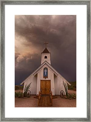 The Chapel  Framed Print by Saija  Lehtonen