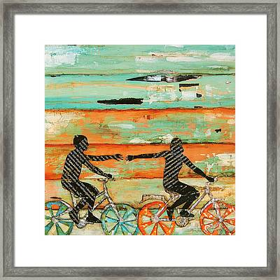 The Chase Framed Print by Danny Phillips
