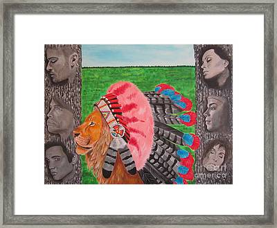 The Cherokees Framed Print by Jeepee Aero