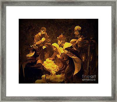 The Child Framed Print by Erica Hanel