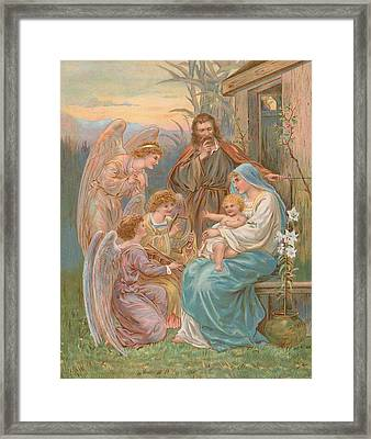 The Christ Child Framed Print by English School