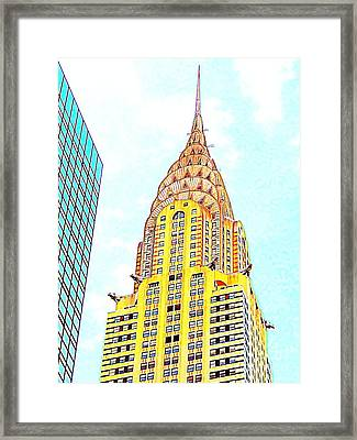 The Chrysler Building Framed Print by Ed Weidman