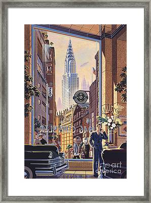 The Chrysler Framed Print by Michael Young