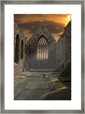 The Church Framed Print by Brendan Quinn