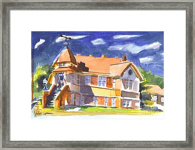 The Church On Shepherd Street II Framed Print by Kip DeVore