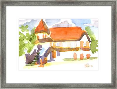 The Church On Shepherd Street V Framed Print by Kip DeVore
