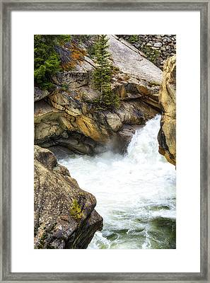 The Chute Framed Print by The Forests Edge Photography - Diane Sandoval