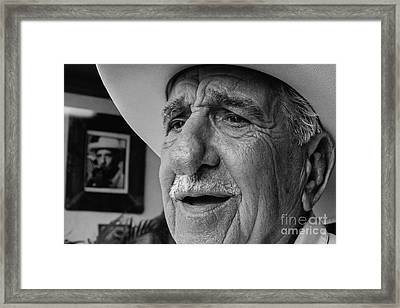 The Cigar Maker Framed Print by Rene Triay Photography