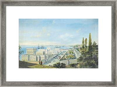 The Ciragan Palace Framed Print by Celestial Images