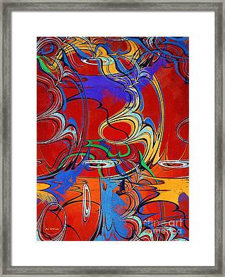 The Circus Of Ecstasy Framed Print by RC deWinter
