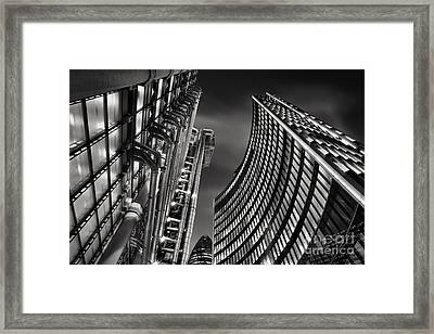 The City Framed Print by Rod McLean