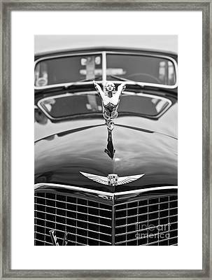 The Classic Cadillac Car At The Concours D Elegance. Framed Print by Jamie Pham