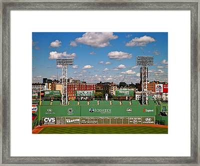 The Classic II Fenway Park Collection  Framed Print by Iconic Images Art Gallery David Pucciarelli
