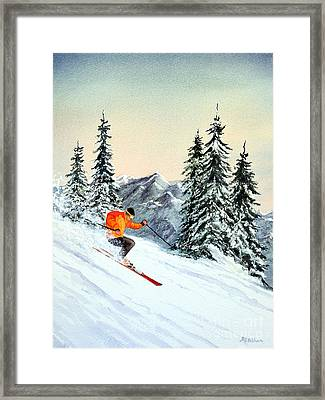 The Clear Leader Framed Print by Bill Holkham