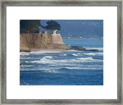 The Cliff House Framed Print by Deana Glenz