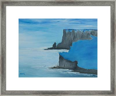 The Cliffs Of Moher Framed Print by Conor Murphy