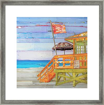 The Coast Is Clear Framed Print by Danny Phillips