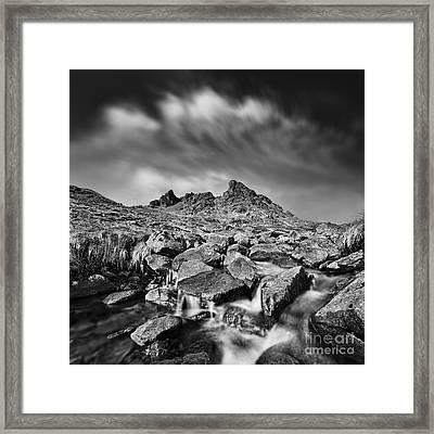 The Cobbler Framed Print by Rod McLean